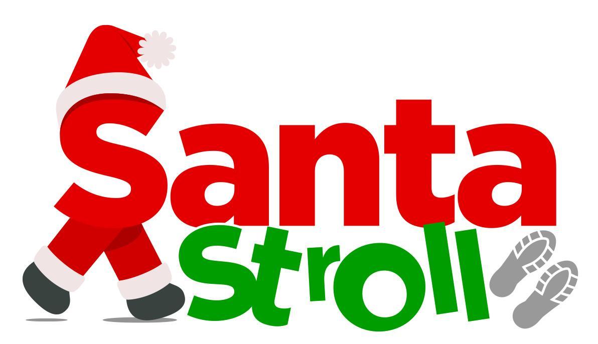 Santa stroll logo